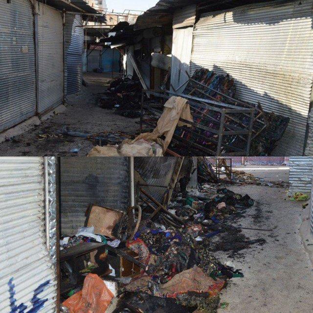 جزئیات تازه از آتش سوزی جمعه بازار یاسوج