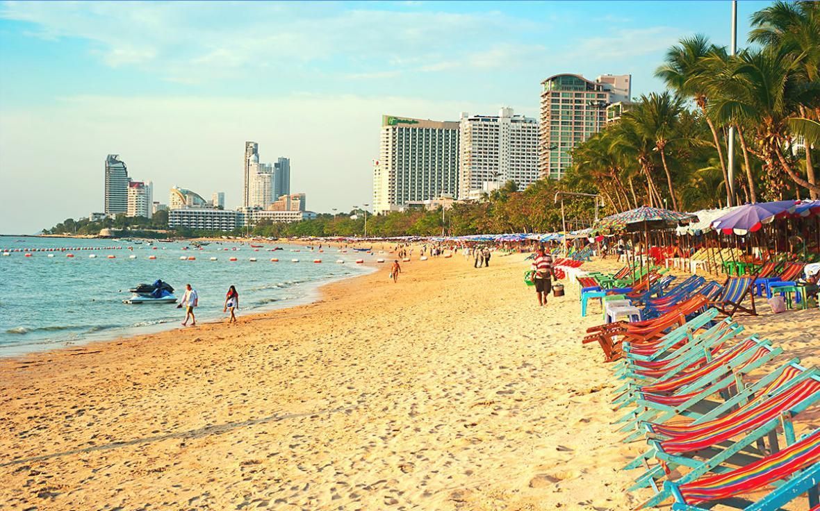 شهرهای ساحلی تایلند