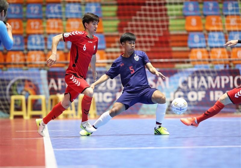 فوتسال قهرمانی زیر 20 سال آسیا، افغانستان با پیروزی مقابل تایلند راهی نیمه نهایی شد