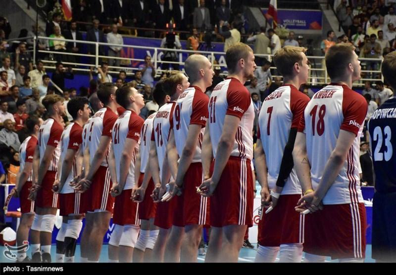 لیگ ملت های والیبال ـ ارومیه، تمرین پیش از بازی تیم های کانادا و لهستان