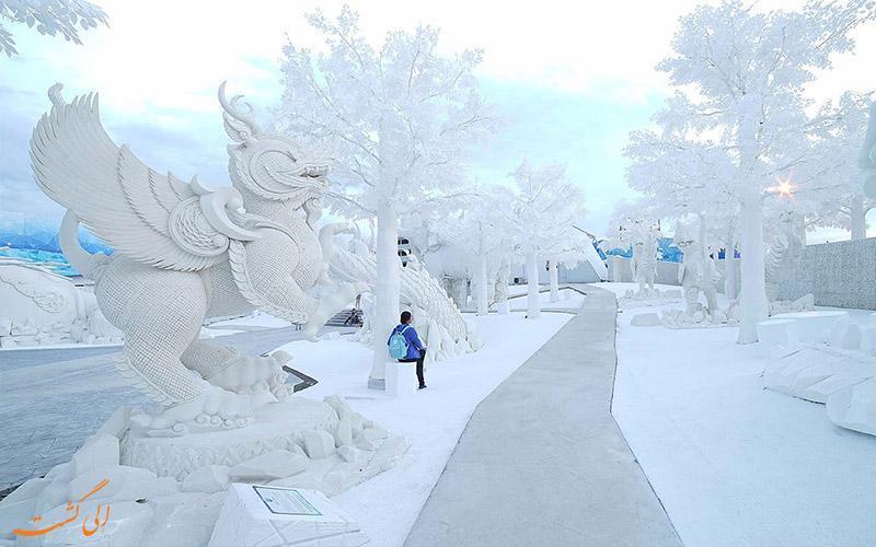 تجربه زمستان در پارک یخ جادویی سیام پاتایا