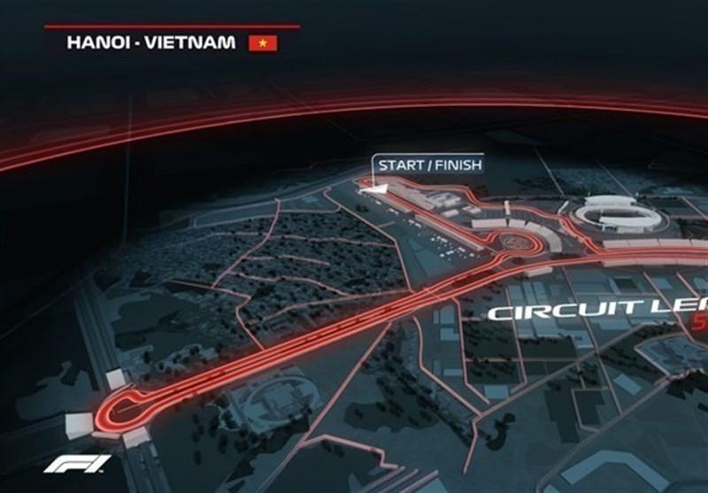 بازدید مدیر فرمول یک از مسیرهای تازه ساخت گرندپری ویتنام