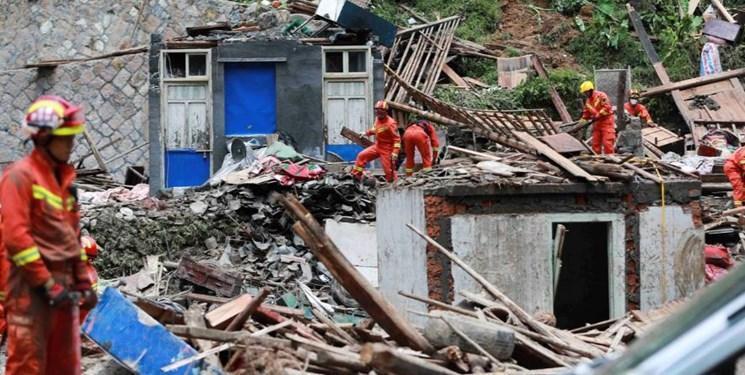 تلفات طوفان لکیما در چین به 44 نفر افزایش یافت