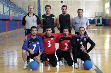 پیروزی قاطع تیم گلبال مردان ایران مقابل مغولستان