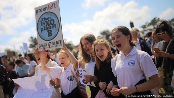 آغاز اعتصاب جهانی دانش آموزان در اعتراض به تغییرات آب و هوایی
