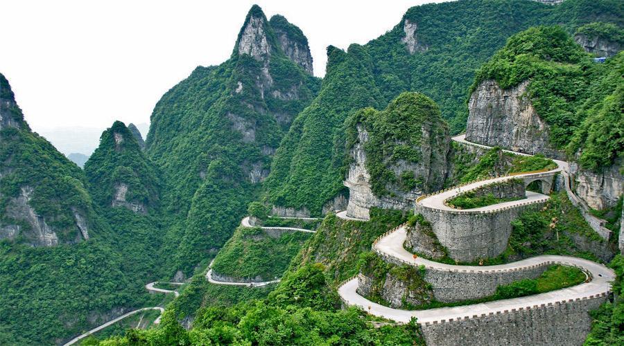 کوهستان تیان مِن، قطعه ای از بهشت در چین