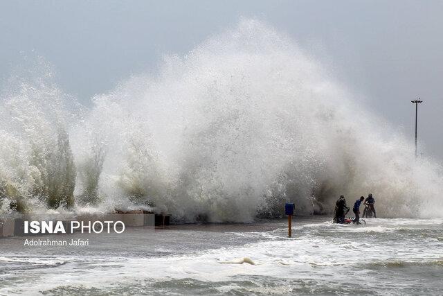 طوفان حاره ای کیار در راه دریای عمان و شرق تنگه هرمز