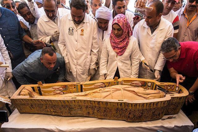 رونمایی از 30 تابوت سه هزار ساله در مصر