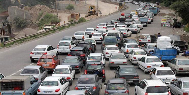 ترافیک در محورهای شمالی، کرج به چالوس یکطرفه شد
