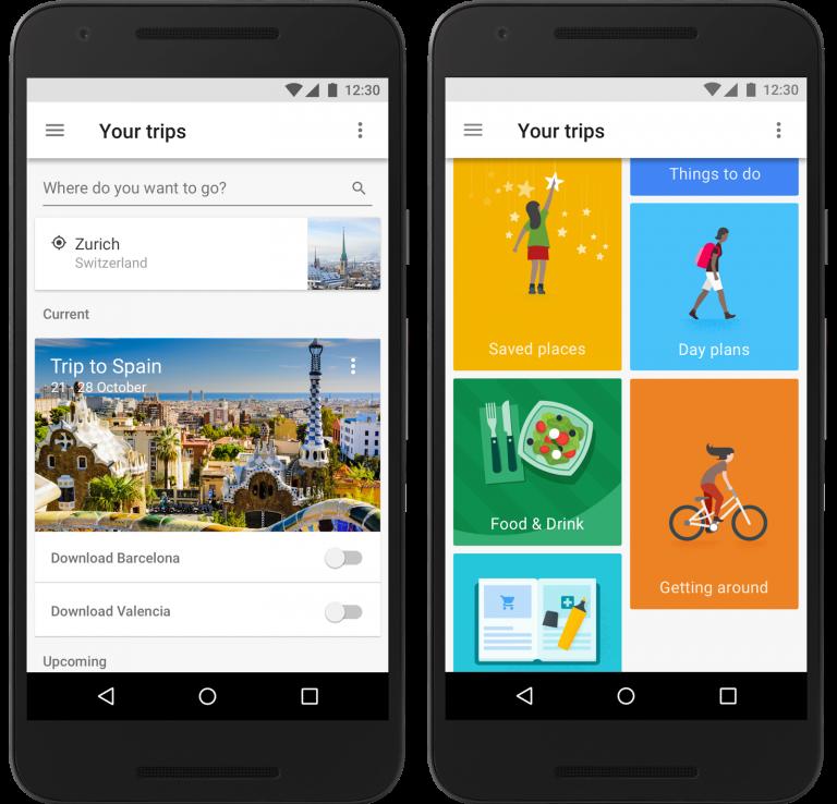 گوگل تریپز؛ برنامه جامع سفر در جیب شما