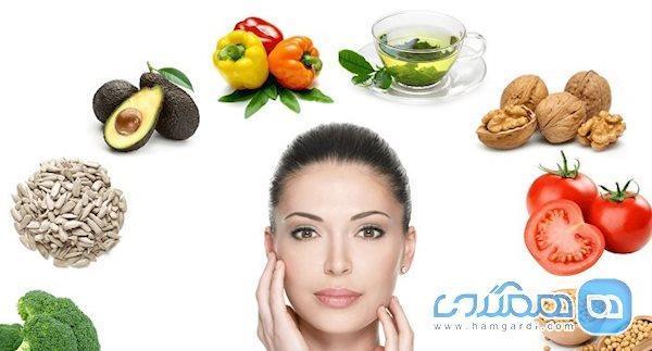 مواد غذایی که درخشش پوست شما را می گیرد