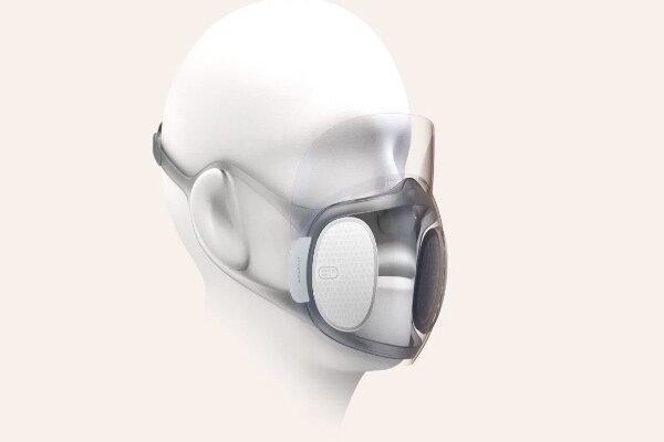 فراوری ماسک شفاف مجهز به نور مافوق بنفش برای پاکسازی