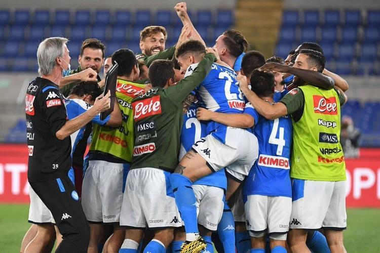 ناپولی بعد از شش سال قهرمان جام حذفی شد