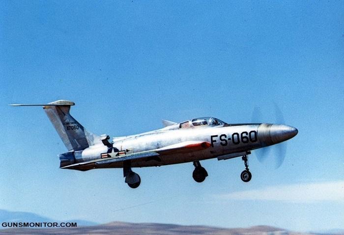 تاندراسکریچ XF-84H؛ بدترین جنگنده آمریکایی جنگ سرد!