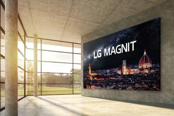 ال جی تلویزیون 163 اینچی به بازار عرضه می کند