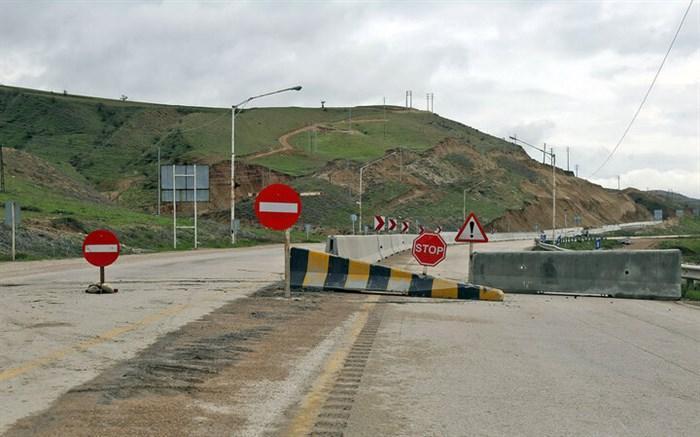 جاده هراز دوباره مسدود شد