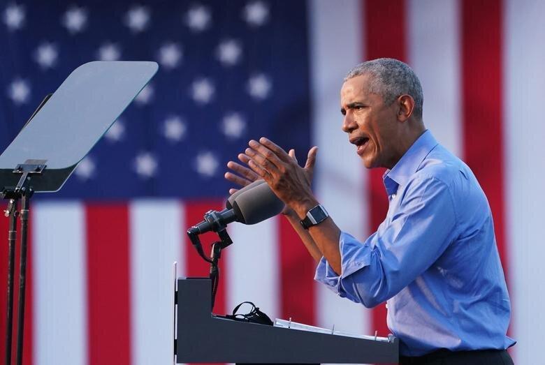 اوباما:پوتین،شی و اون می خواهند ترامپ پیروز شود، ترامپ:همه را باید زندانی کنیم، بایدن:برای اخراج این یکی ننشینید