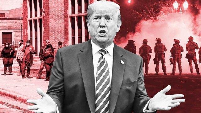 ترامپ حکم دادگاه درباره رای گیری پنسیلوانیا را تحریک خشونت دانست