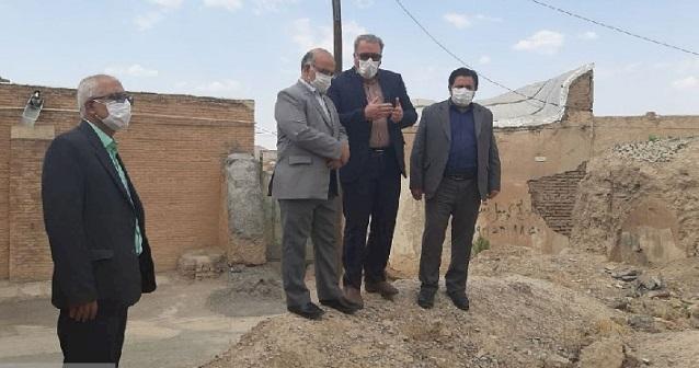 تبدیل بافت تاریخی محله اسماعیل&zwnjطرخان مبارکه به محور گردشگری