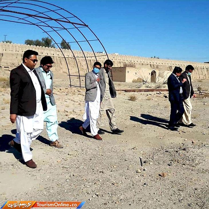 طرح ها و برنامه های بازسازی قلعه ناصری ایرانشهر پیگیری می گردد