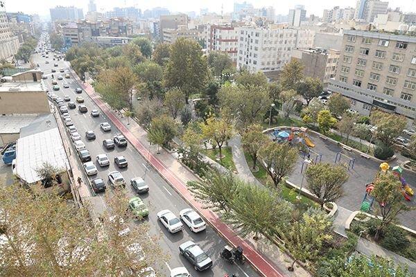 بهسازی بیش از 142 کیلومتر از طول معابر پیاده تهران