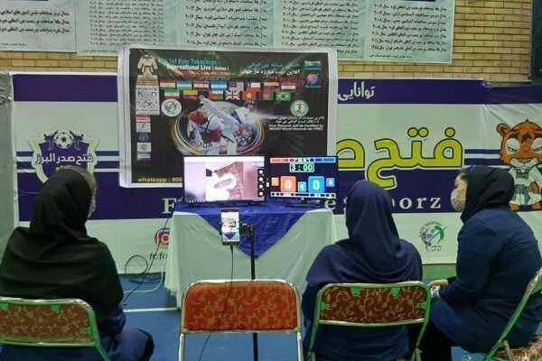 رقابت 562 تکواندوکار در سومین دوره مسابقات مجازی تکاوران