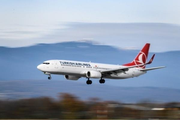 اطلاعیه سازمان هواپیمایی درباره تغییر جهت هواپیمای ترکیش ایر