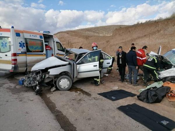حادثه رانندگی در محور شهرکرد به اردل 9 مصدوم برجای گذاشت