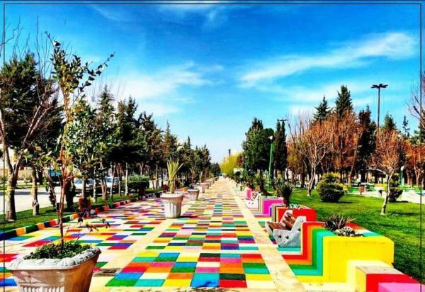 کرمانشاه به شهر رنگ و بوم تبدیل شده است