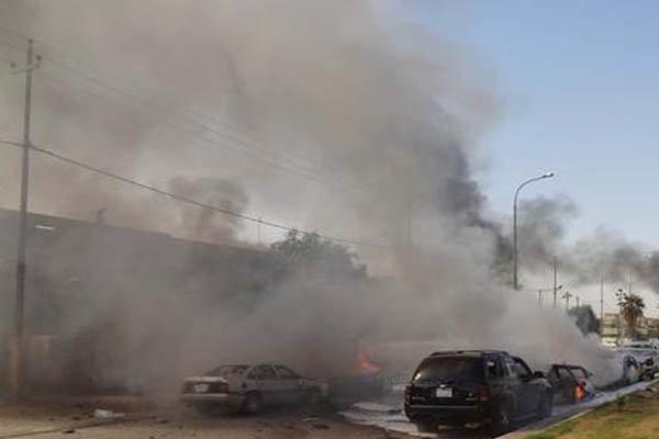 وقوع انفجار در السماوه عراق خبرنگاران
