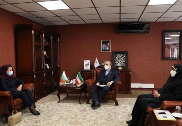 ملاقات وزیر ورزش با سفیر بلغارستان