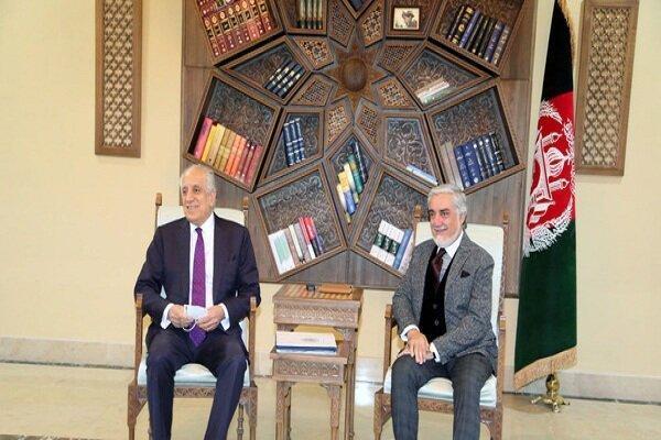 نماینده آمریکا در امور افغانستان با عبدالله عبدالله ملاقات کرد