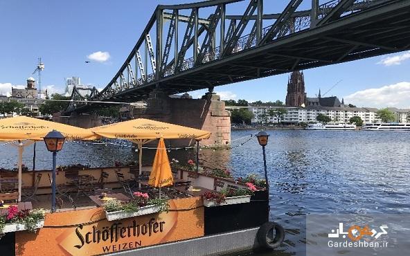 پل آهنی فرانکفورت؛ بنایی که شاهکار جهانی است!