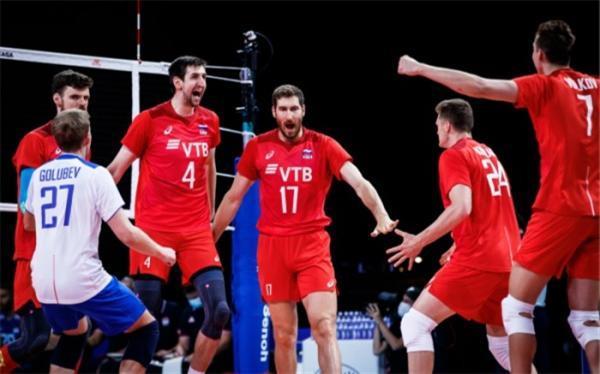 لیگ ملت های والیبال؛ روسیه دوئل صعود را داغ کرد