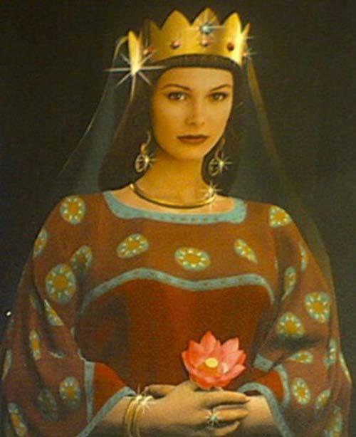 اولین پادشاه زن ایرانی پس از اسلام، عکس
