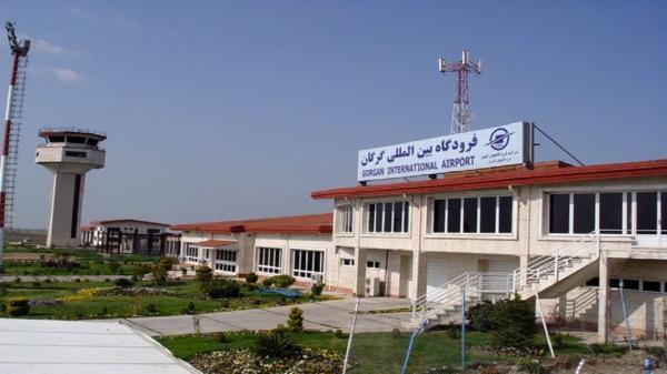 راه اندازی خط نو پروازی از فرودگاه بین المللی گرگان